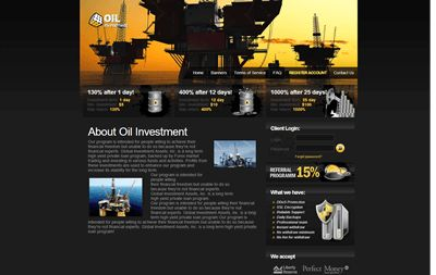 ������ ���� Oil Investment